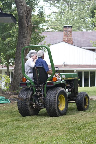 getaway tractor