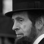 Abe Lincoln impersonator